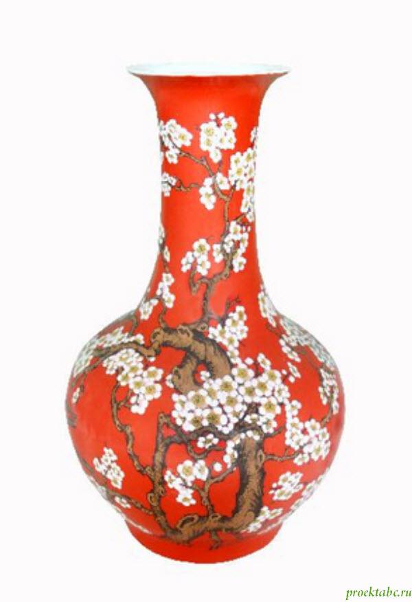 напольные вазы для дома фото