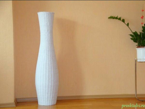 красивая напольная ваза фото