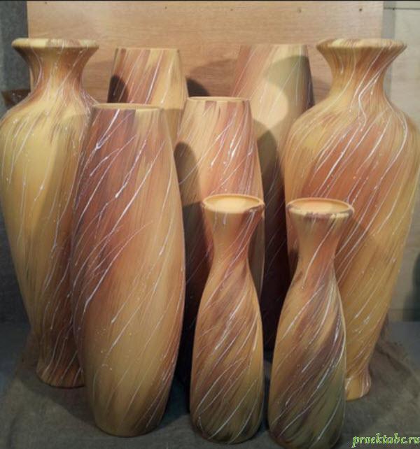 современные напольные вазы