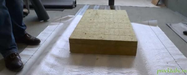 Проект коттеджа с плоской кровлей