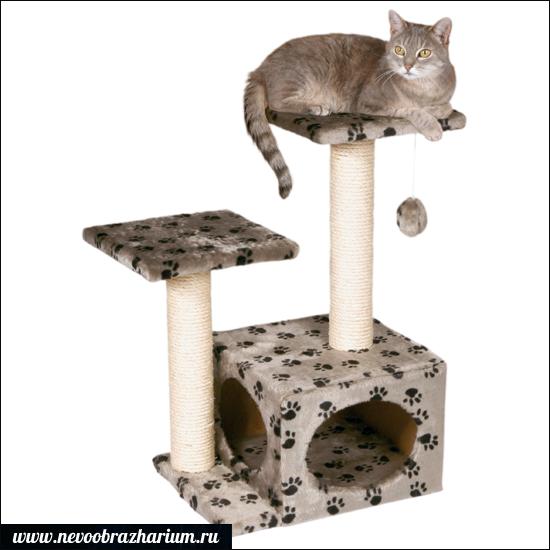 делаем кошачий домик своими руками