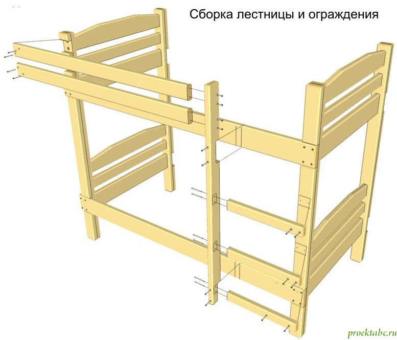 двухъярусные кровати своими руками