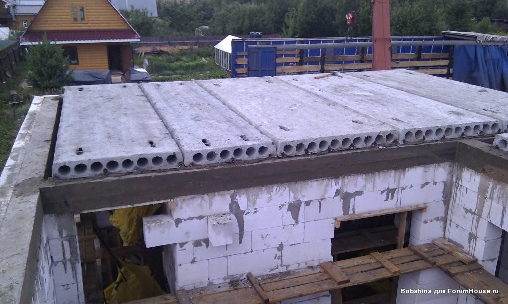 монолитное перекрытие для двухэтажной бани из пеноблоков фото