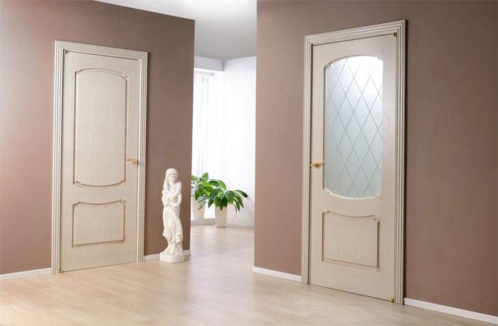 Двери с сотовым наполнением