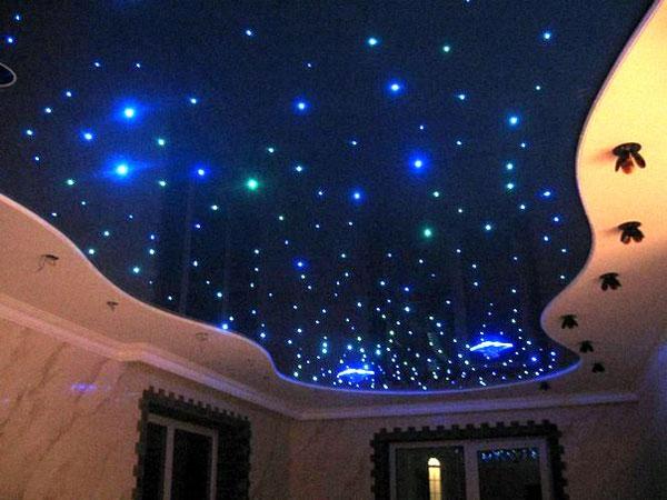 Звездное небо на чердаке