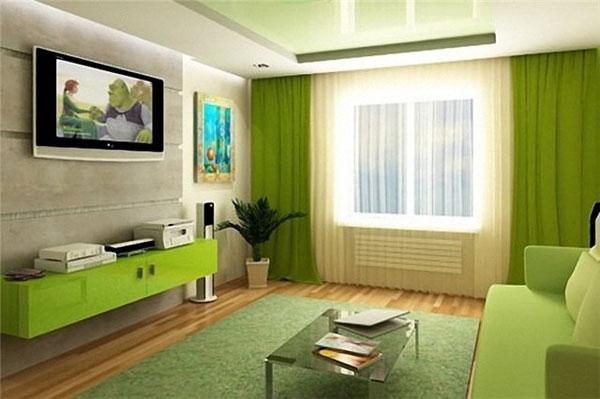 Зеленый ковер