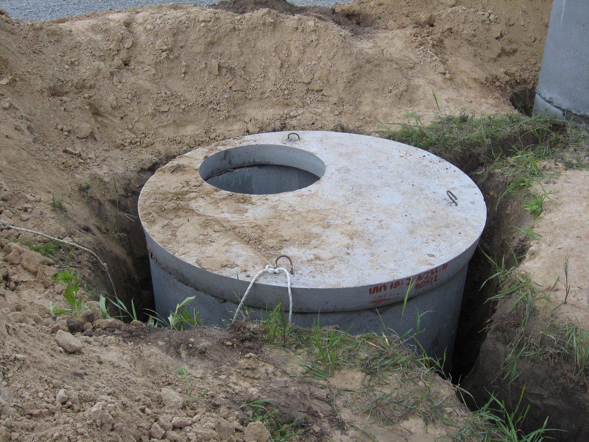 Кольца бетонные для канализации своими руками видео