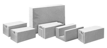 Варианты газобетонных блоков
