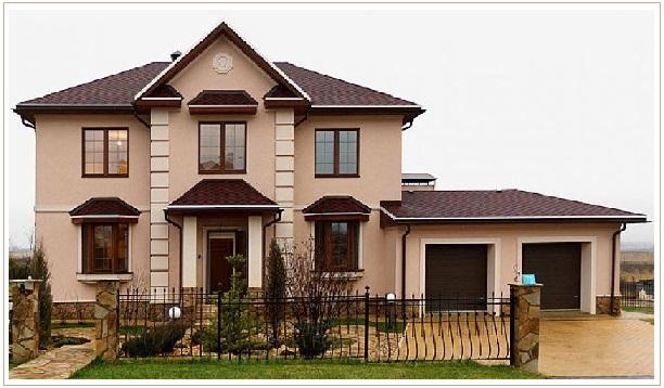 Пример дома, построеного по технологии ТЕРМО-СП