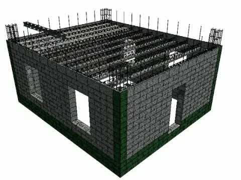 Строительство дома армопанельным способом