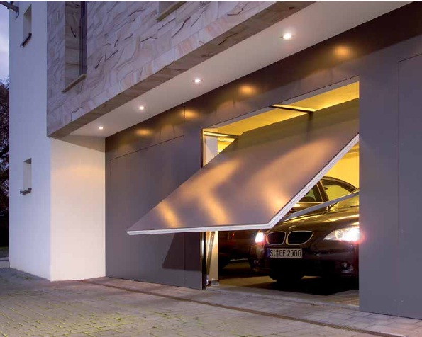 Подъемно-поворотная система гаражных ворот