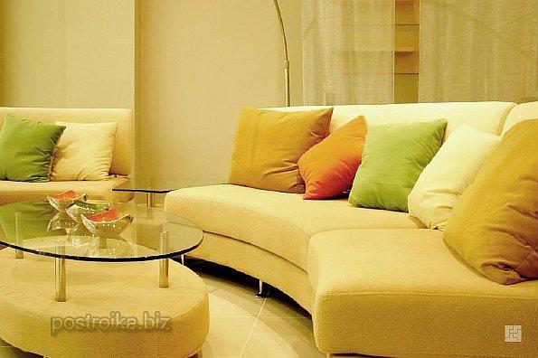Дизайн интерьера в желтых тонах