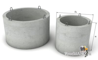 бетонные кольца для канализации монтаж
