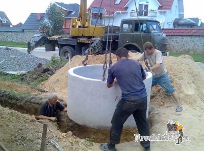 бетонные кольца для канализации своими руками
