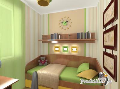 Дизайн кровати для детской