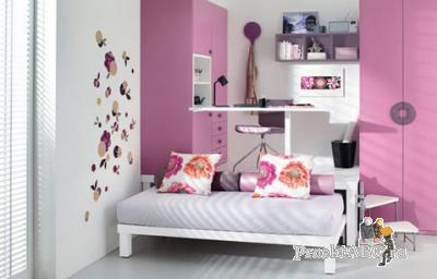 Дизайн детской комнаты девочек разных возрастов