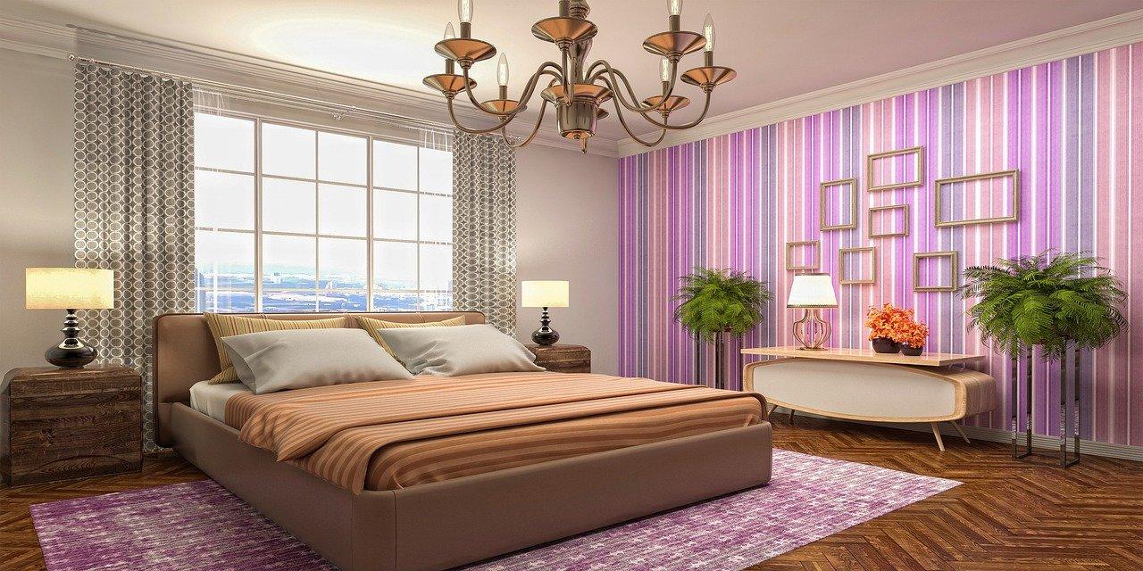 интерьер спальной для девушки-подростка
