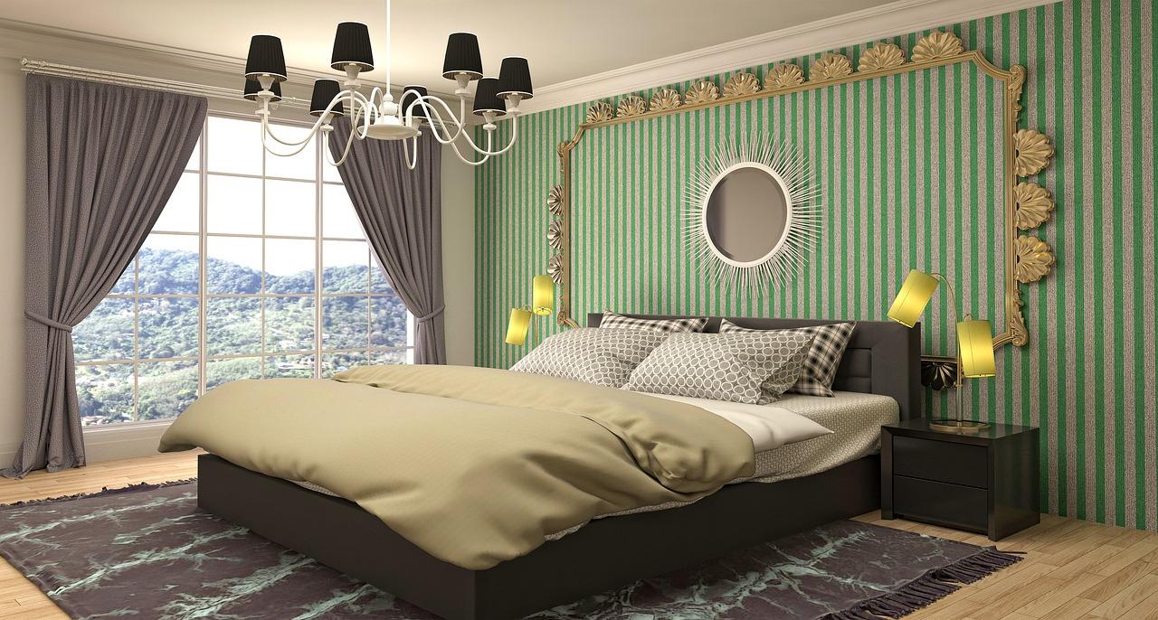 Дизайн комнаты спальни для девушки
