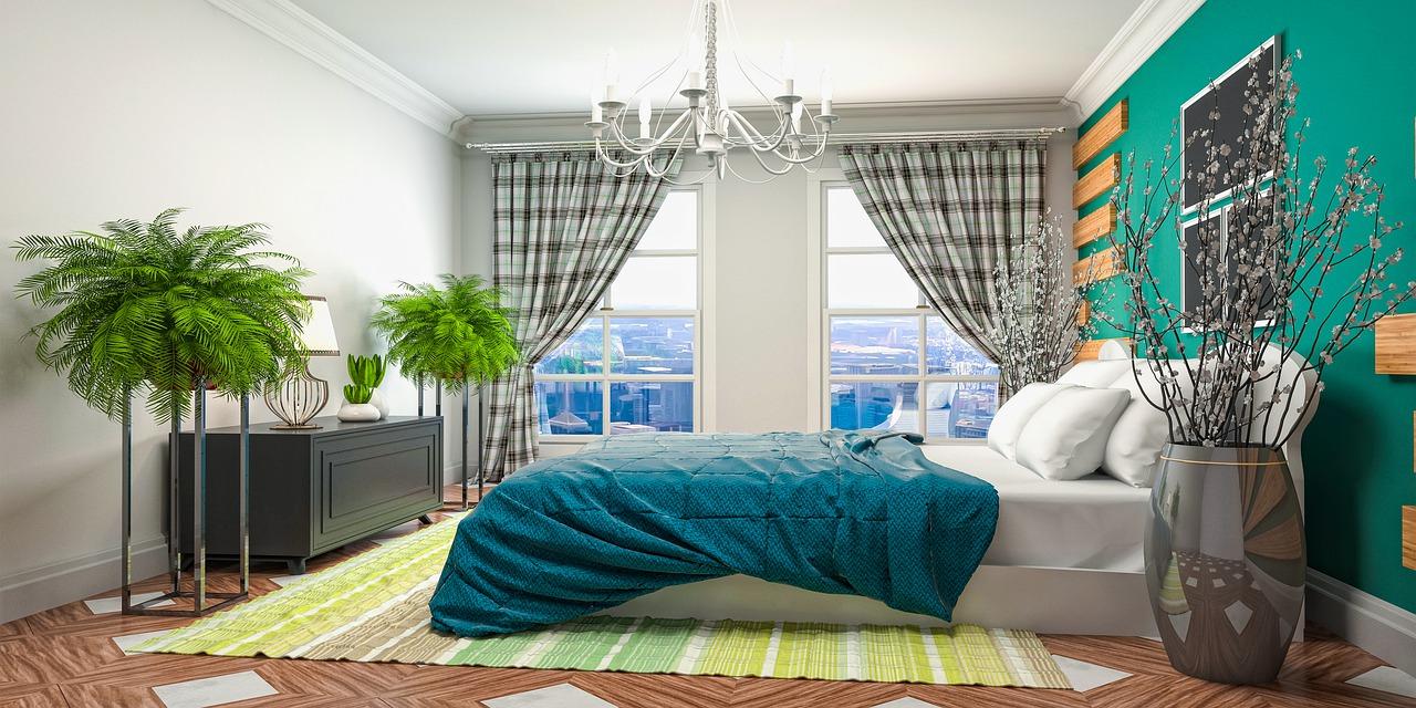 яркий дизайн комнаты для девушки