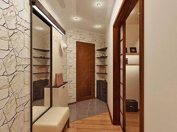 дизайн прихожей для маленького коридора