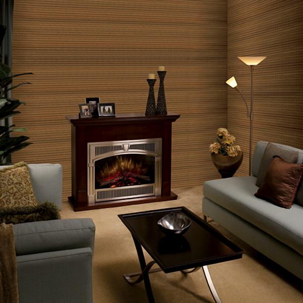 Использование бамбуковых обоев для дизайна гостиной