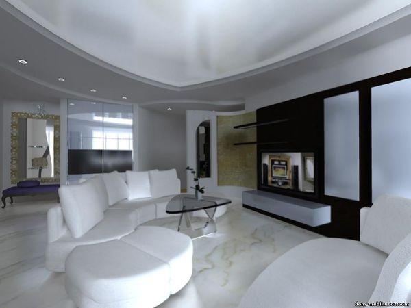 Как сделать современный потолок