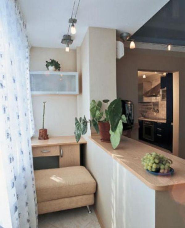 Соединение комнаты с балконом в панельном доме..