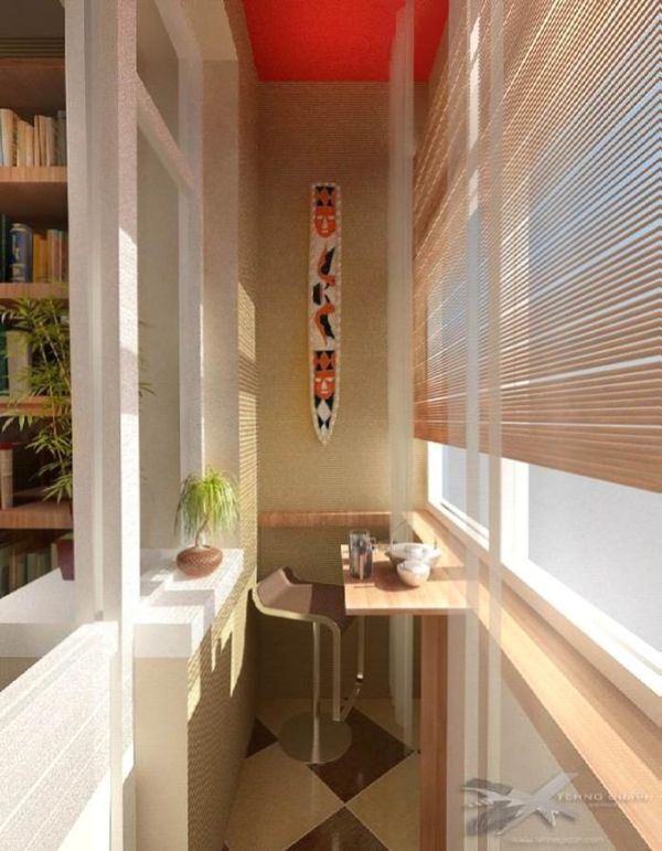 Дизайн балконов фото.