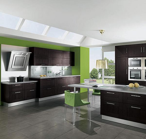дизайн кухни в свободной планировке