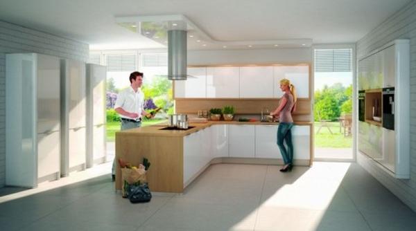 дизайн проходной кухни