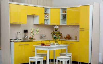 Дизайн кухни 9 кв угловая фото
