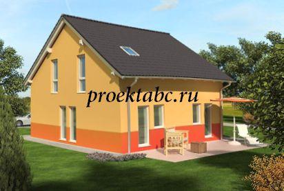 фото фасада немецкого дома