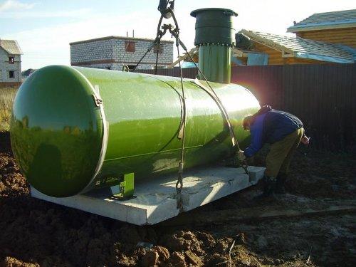 конструкция газнольдера для дома