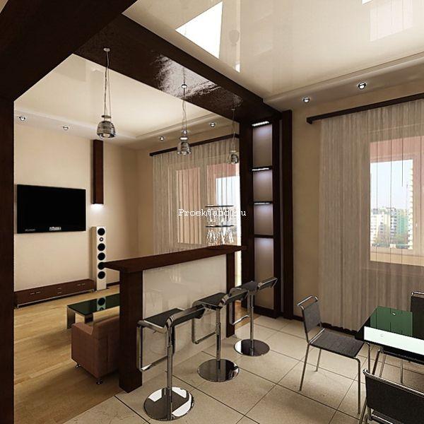 дизайн гостиной решения