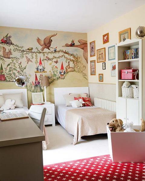 Дизайн комнаты двух подростков 3