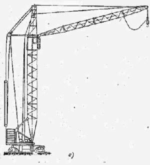 чертеж башенного крана кб 100