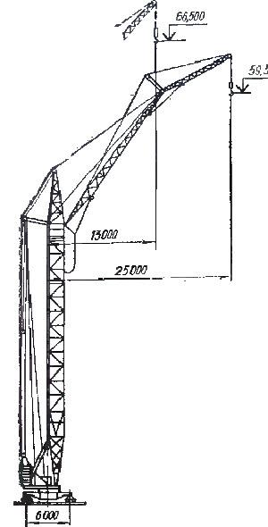 башенного крана кб 402