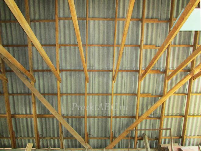 стропила двускатной крыши