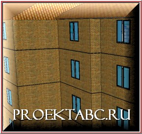 окна в модели дома
