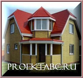 готовый дом из пеноблоков
