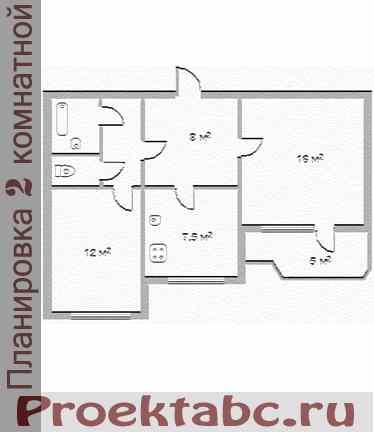 Перепланировка квартиры в панельном доме Все
