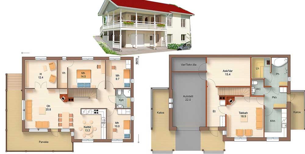 Программы проекты домов с мансардой