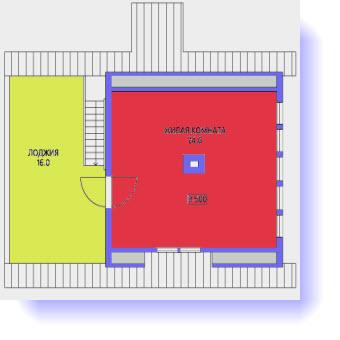 план дома 6х9 м