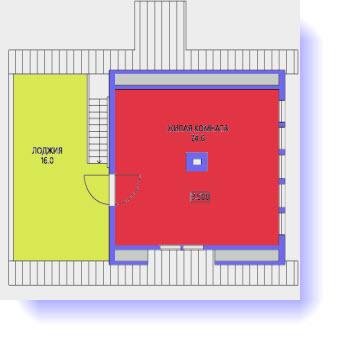 дома планы 7 на 7 метров