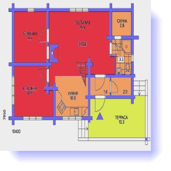 дома планы 9x9