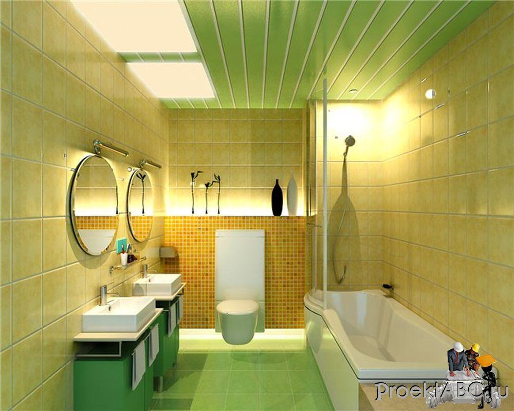 Пластиковые потолки в ванной комнате своими руками 909