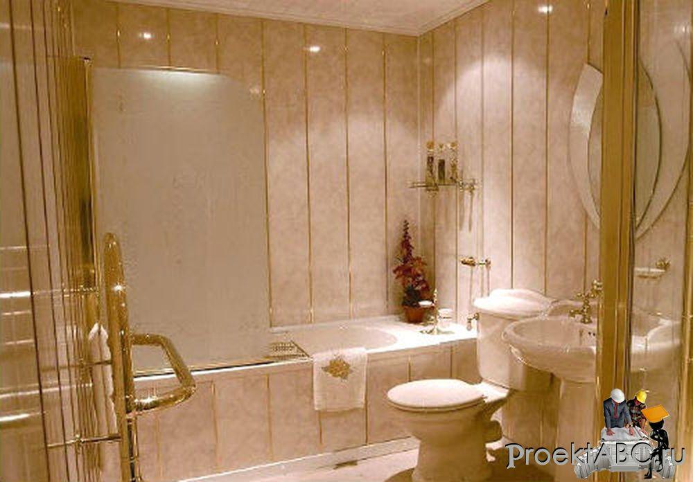 Ремонт ванной комнаты пластиковыми панелями своими руками фото