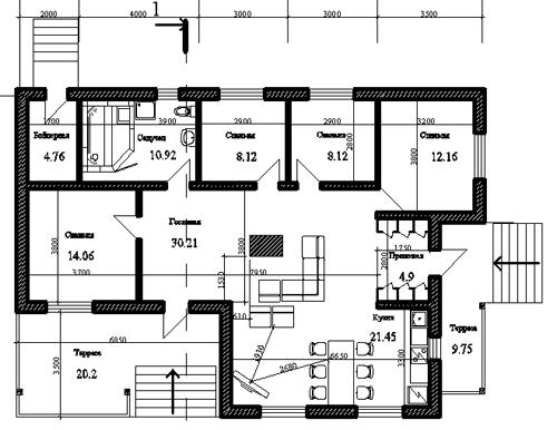 Типовой Проект Каркасного Дома 9 6 Бесплатно