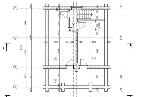 2-ой этаж бани для строительства своими руками
