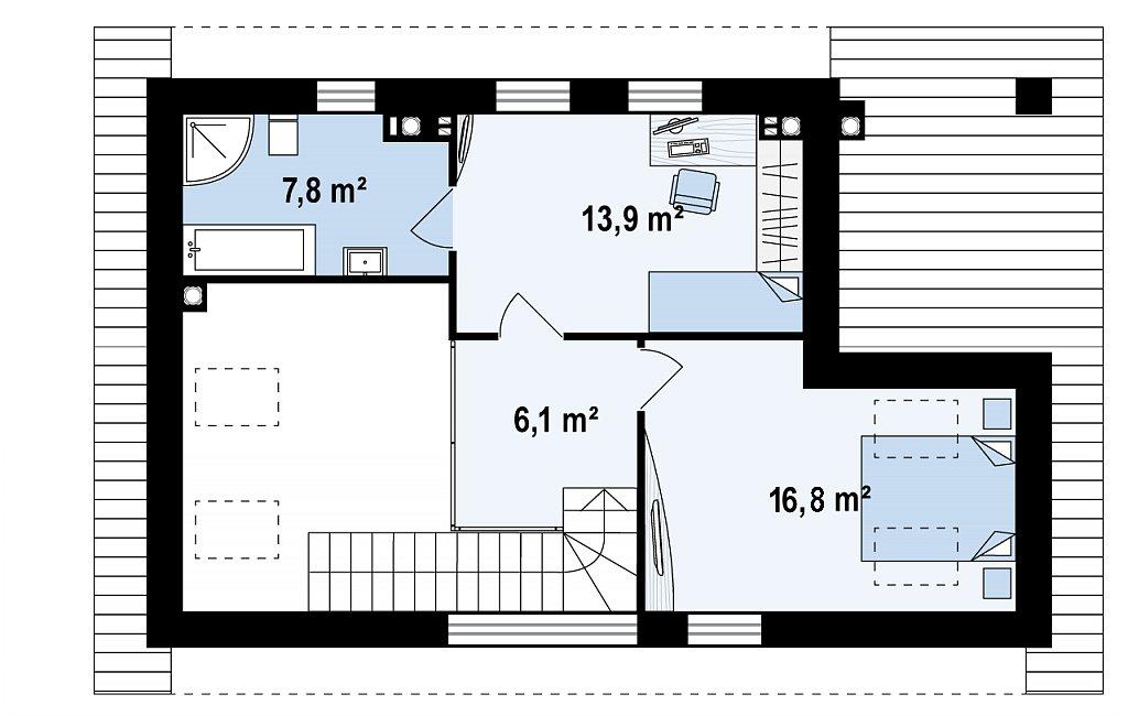 второй этаж бани